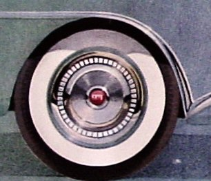 1955 Buick Wheels